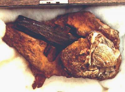Молоток возрастом 140 миллионов лет