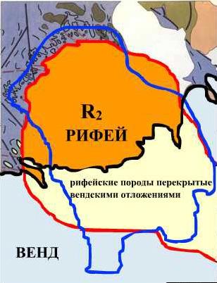 Расшифровка тектонической схемы